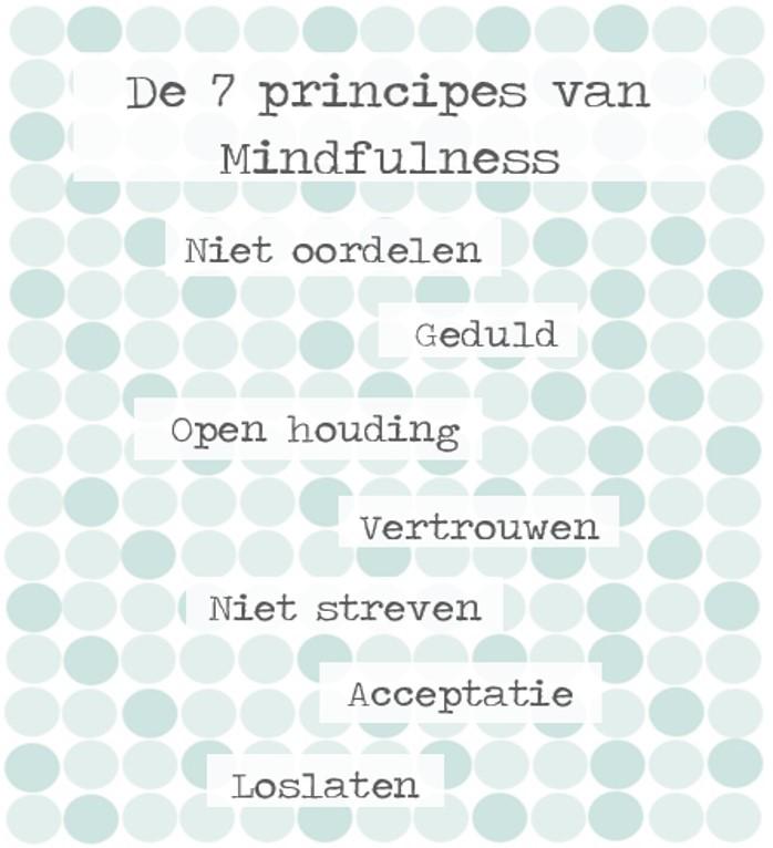 De 7 principes van mindfulness