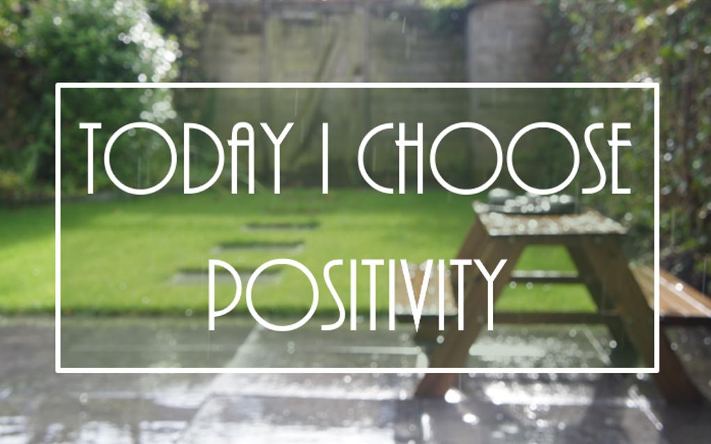 Een simpele manier om positiever in het leven te staan