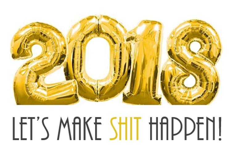 Goede voornemens voor 2018