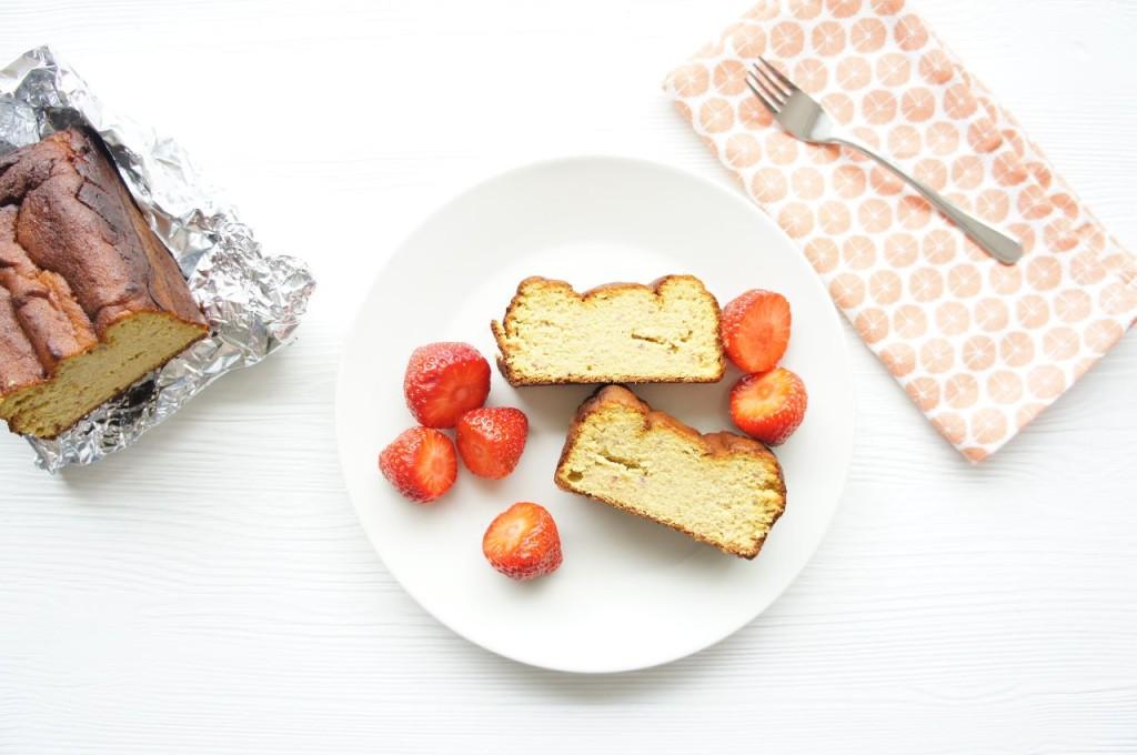 Lichtzoete mangocake