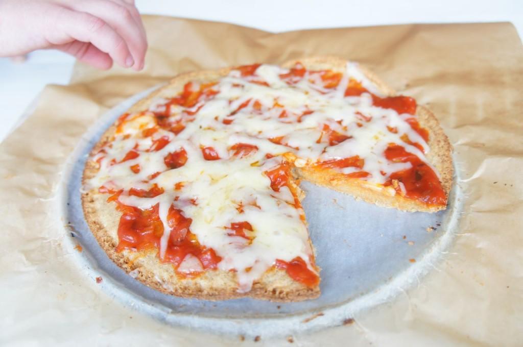 Quinoa pizza