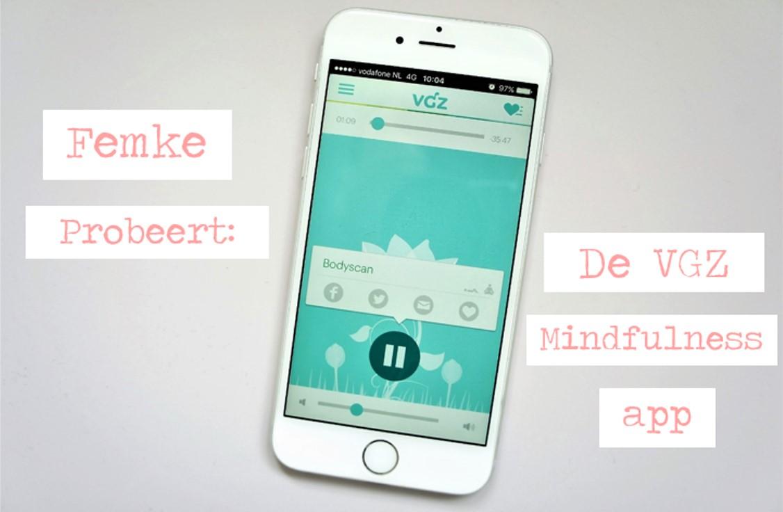VGZ mindfulness app
