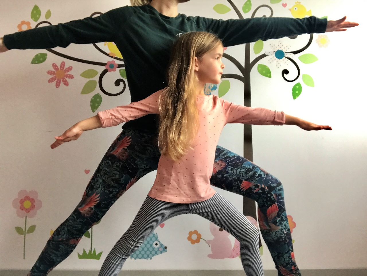 Yoga met je kind