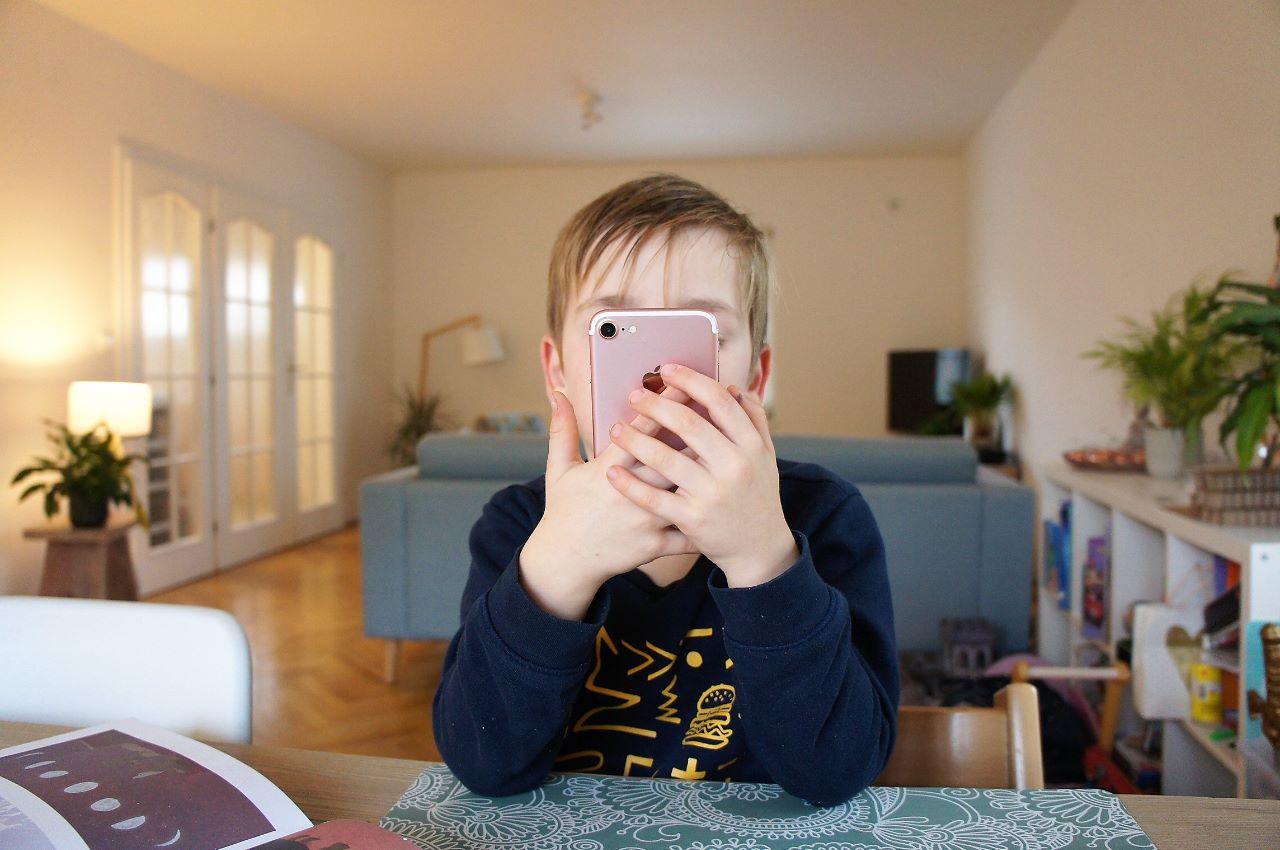 Kinderen en telefoon